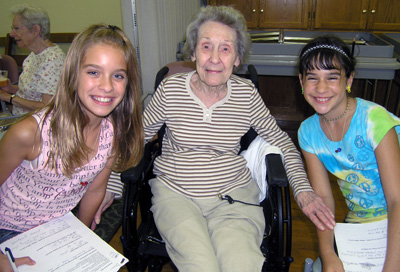 Reaching Out to Senior Citizens in Our Community