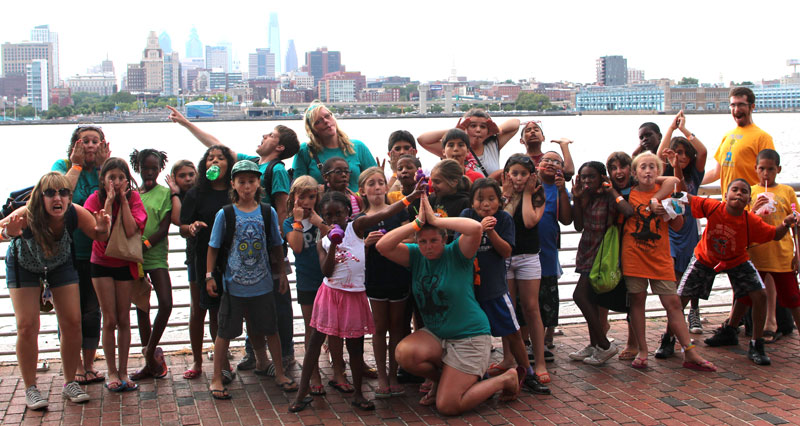 Appel Farm Arts Camp at Adventure Aquarium on Trip Day